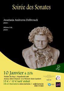 Soirée des Sonates @ Le Kap.L | Sint-Lambrechts-Woluwe | Brussels Hoofdstedelijk Gewest | Belgium
