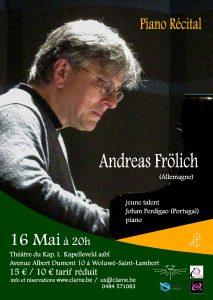 Andreas FROLICH @ Le Kap.L | Sint-Lambrechts-Woluwe | Brussels Hoofdstedelijk Gewest | Belgium